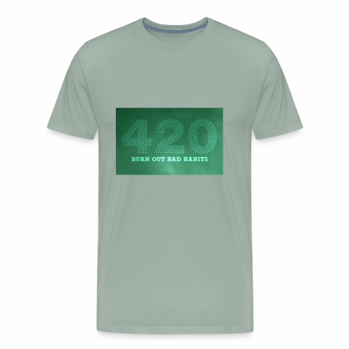 drug free 420 weed - Men's Premium T-Shirt