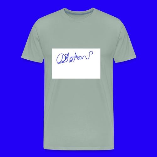 DS Vlogs Signature - Men's Premium T-Shirt