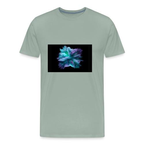 white owl - Men's Premium T-Shirt