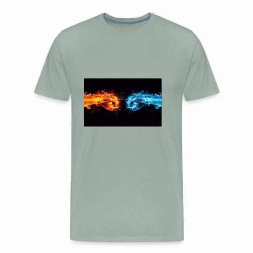 fire v water - Men's Premium T-Shirt