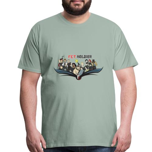 FetSoldier - Group - Men's Premium T-Shirt