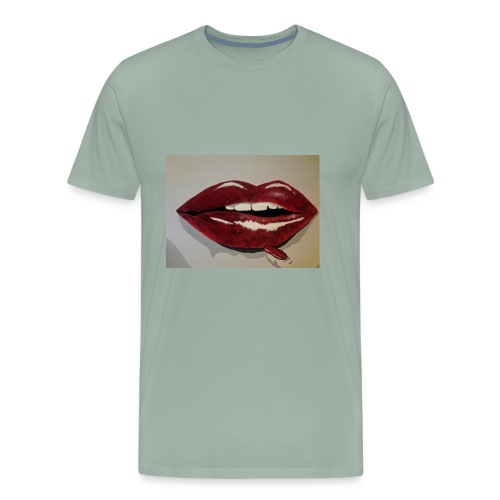 Hot Lips - Men's Premium T-Shirt