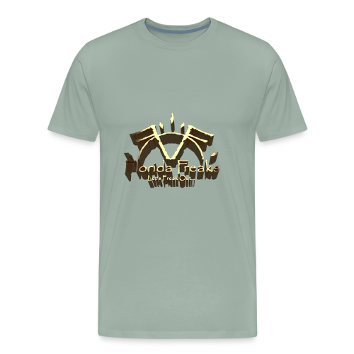 FLORIDA FREAKS 3D LOGO PRINT - Men's Premium T-Shirt