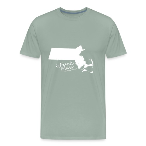 Fuck Massachusetts - Men's Premium T-Shirt