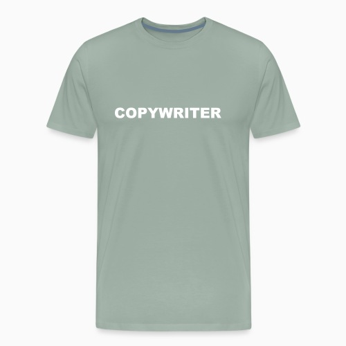 COPYWRITER white text - Men's Premium T-Shirt