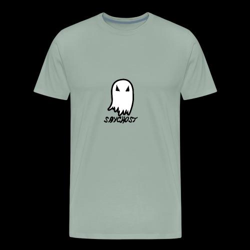 SayGhost Logo - Men's Premium T-Shirt