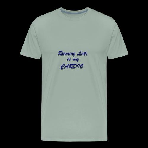 Running Late - Men's Premium T-Shirt