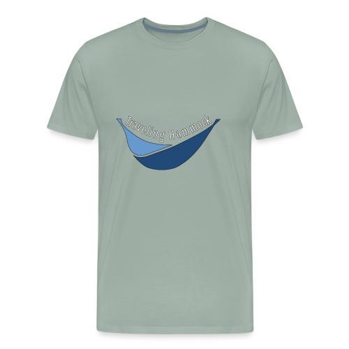 Traveling Hammock Logo without the background - Men's Premium T-Shirt