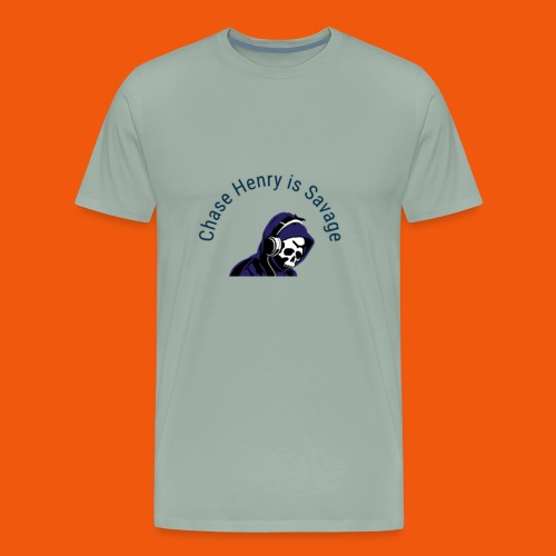 Chase Henry is Savage - Men's Premium T-Shirt