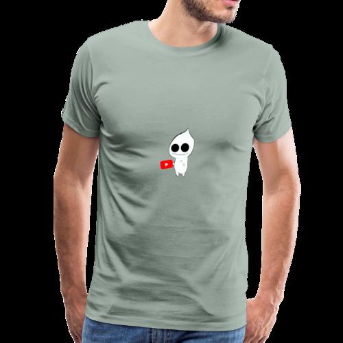Smooth mousepad - Men's Premium T-Shirt