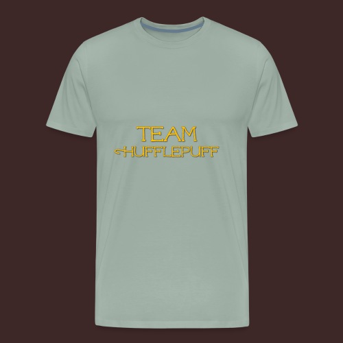 Team Hufflepuff - Men's Premium T-Shirt