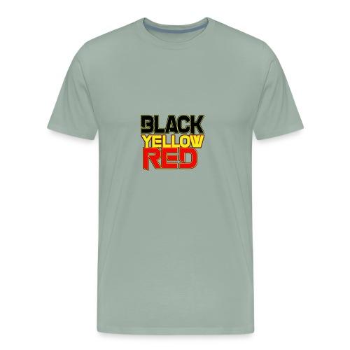 black yellow red - Men's Premium T-Shirt