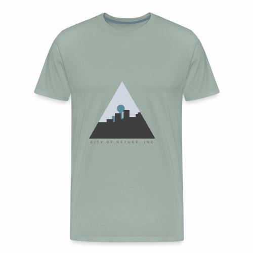 City of Refuge, Inc. Logo - Men's Premium T-Shirt