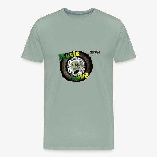 Music Is Love - Men's Premium T-Shirt