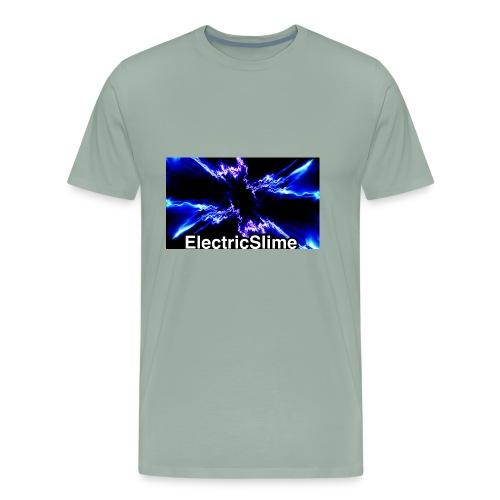 ElectricSlime Electricity Graphic - Men's Premium T-Shirt