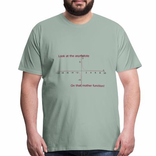 Look at that asymptote! - Men's Premium T-Shirt