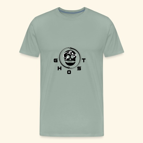 GREY GHOST2 01 - Men's Premium T-Shirt
