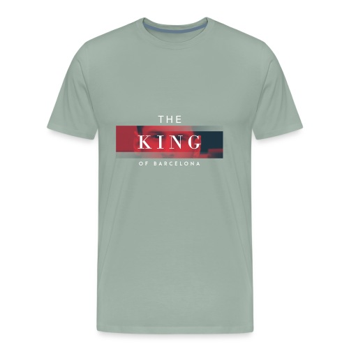 /Leo Messi King Desgn/ - Men's Premium T-Shirt