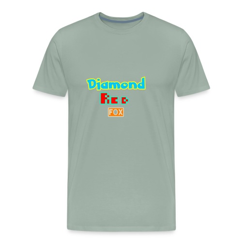 Diamond red fox official - Men's Premium T-Shirt