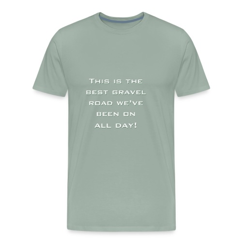 gravel2 - Men's Premium T-Shirt