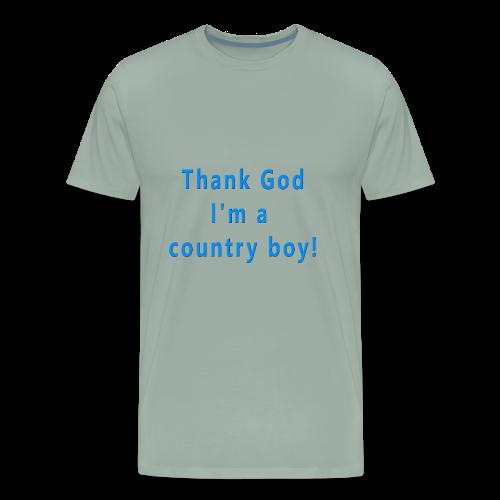 Thank God I'm Country - Men's Premium T-Shirt