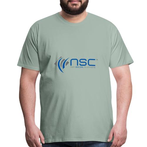 NON SOCIAL CLOTHING - Men's Premium T-Shirt
