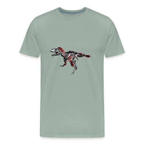 DinoFeathers01 - Men's Premium T-Shirt