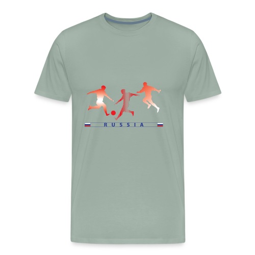 RUSSIA - RUS 3 Players - Men's Premium T-Shirt