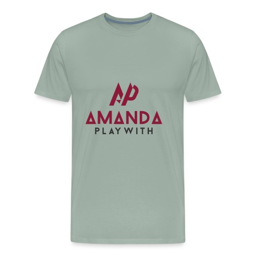 Amanda Playwith Logo Shirt - Men's Premium T-Shirt