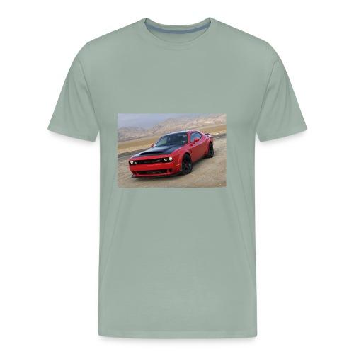2018 Dodge Demon Prairie Front - Men's Premium T-Shirt