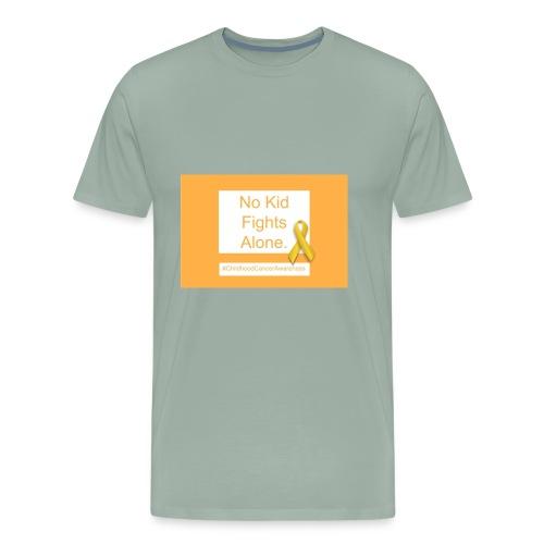 No Kid Fights Alone. - Men's Premium T-Shirt