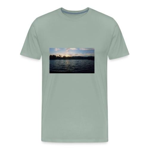 Pink Sunset - Men's Premium T-Shirt