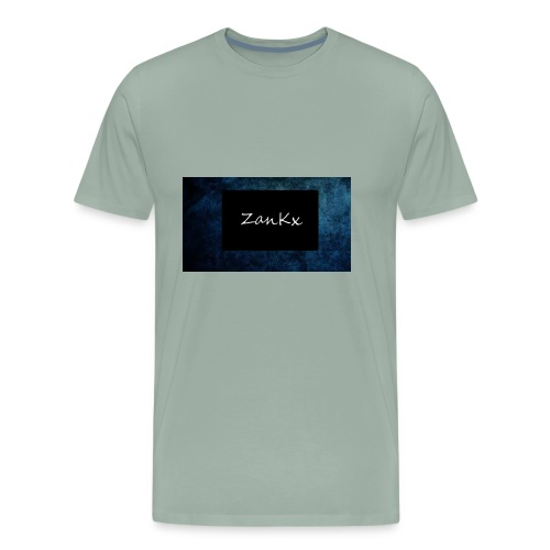 ZanKx Rounded - Men's Premium T-Shirt