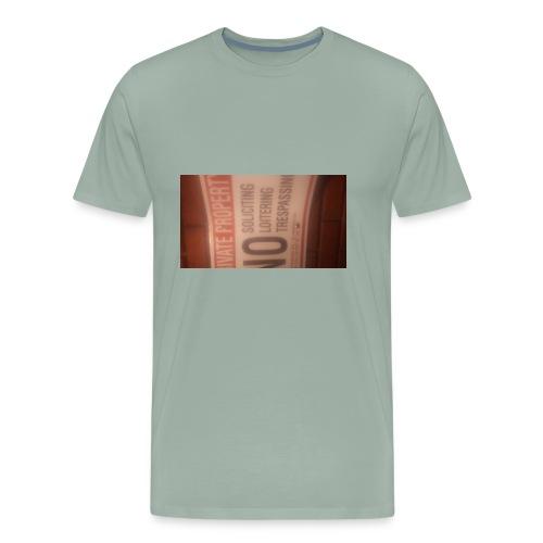 No trespassing - Men's Premium T-Shirt