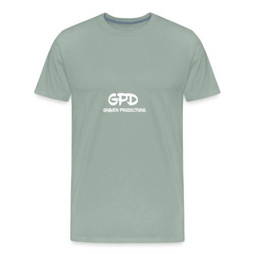 GPD+Graven Productions Blow Brush - Men's Premium T-Shirt