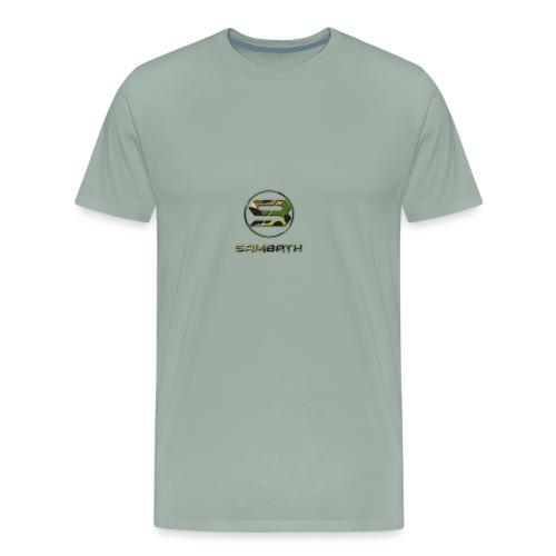 SB Logo camo png - Men's Premium T-Shirt