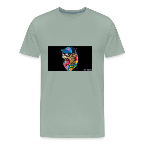 savage hudie - Men's Premium T-Shirt
