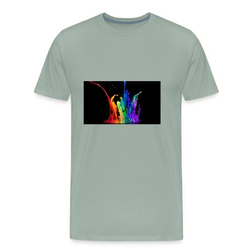 cool rainbow - Men's Premium T-Shirt