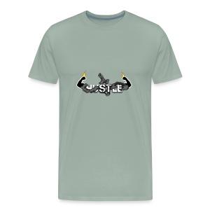 HUSTLE 1 - Men's Premium T-Shirt