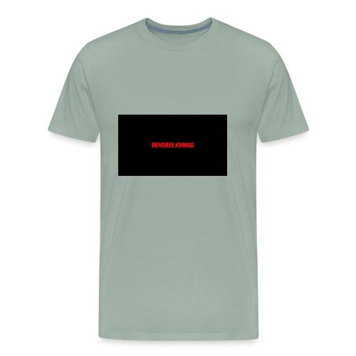 OFFICIAL REVERSE.KVNGGG - Men's Premium T-Shirt