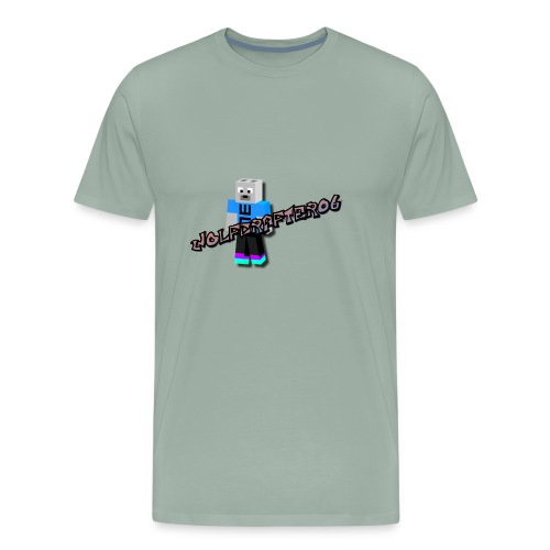 Wolfcrafter06 - Men's Premium T-Shirt