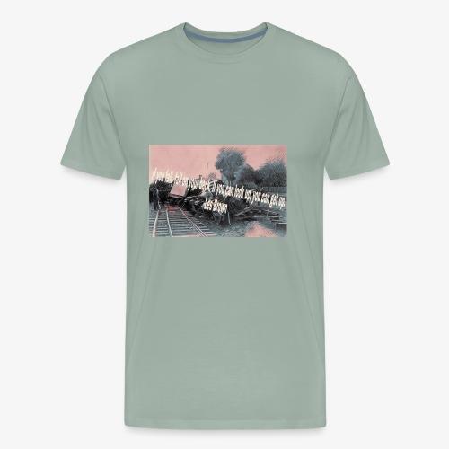 If you fall design - Men's Premium T-Shirt
