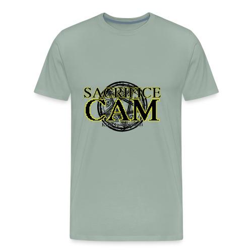 Sacrifice Cam Logo - Men's Premium T-Shirt