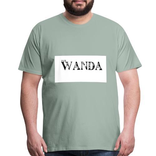 i am wanda - Men's Premium T-Shirt