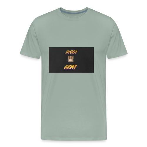 Piggy army - Men's Premium T-Shirt