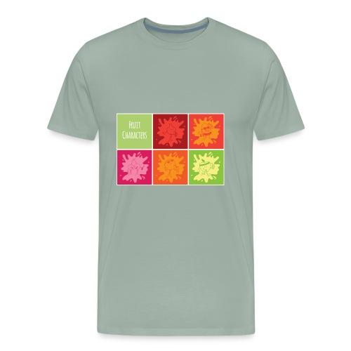 Fruit characters - Men's Premium T-Shirt