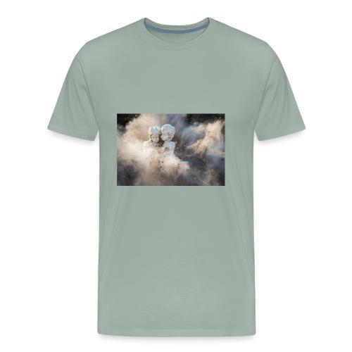 abstract angelic art - Men's Premium T-Shirt