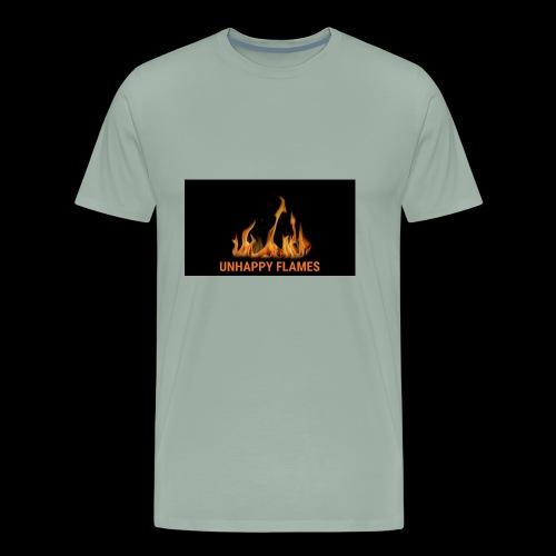 unhappy flames - Men's Premium T-Shirt