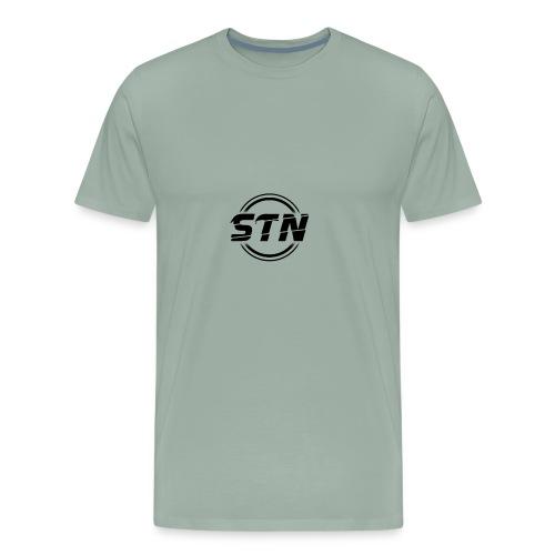 STN Black - Men's Premium T-Shirt