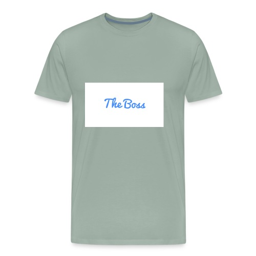 The Boss signture - Men's Premium T-Shirt